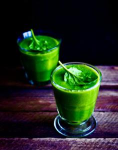 Jus détox vert : épinard et fenouil