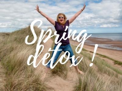 Au printemps, soyez heureux et pensez à la détox !